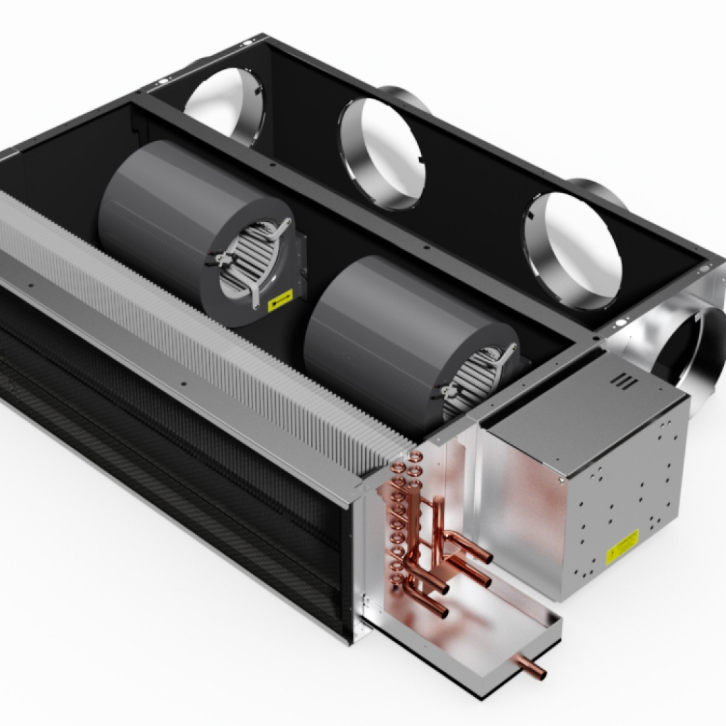 Chilled Water Fan Coil Unit Finalist In Rac Cooling Awards