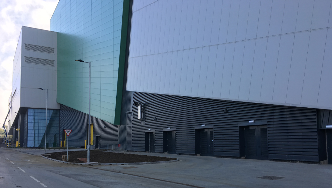 Acoustic louvres installation at Javlin Park Energy from Waste facility